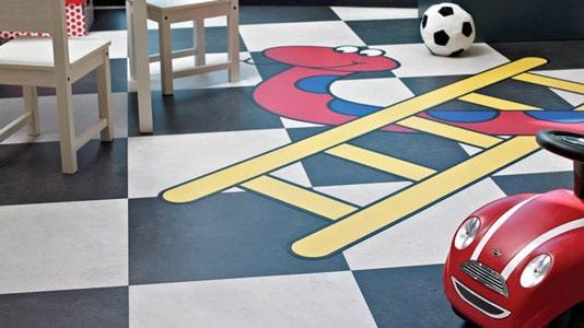 Education flooring