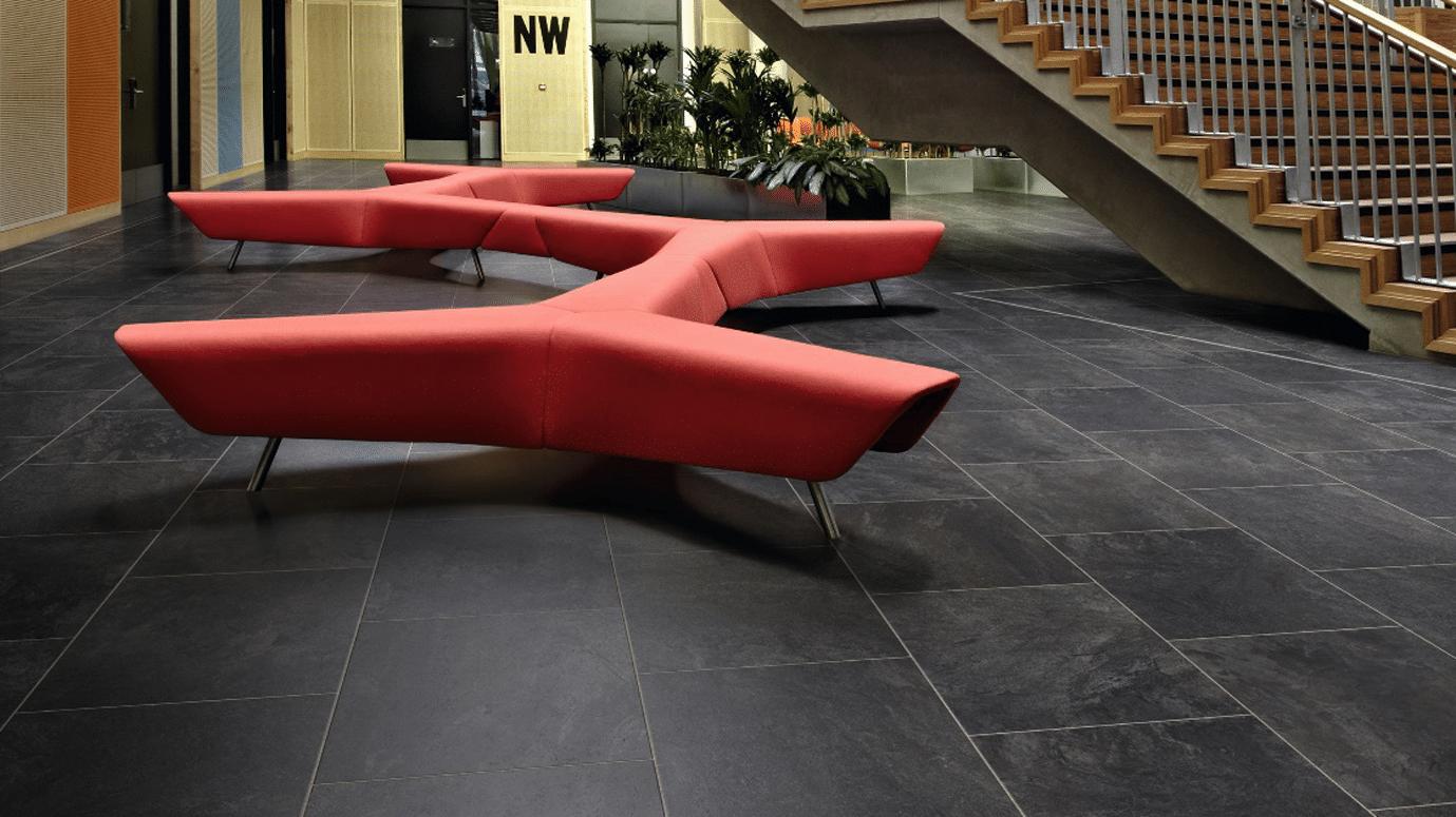 stone effect luxury vinyl tiles