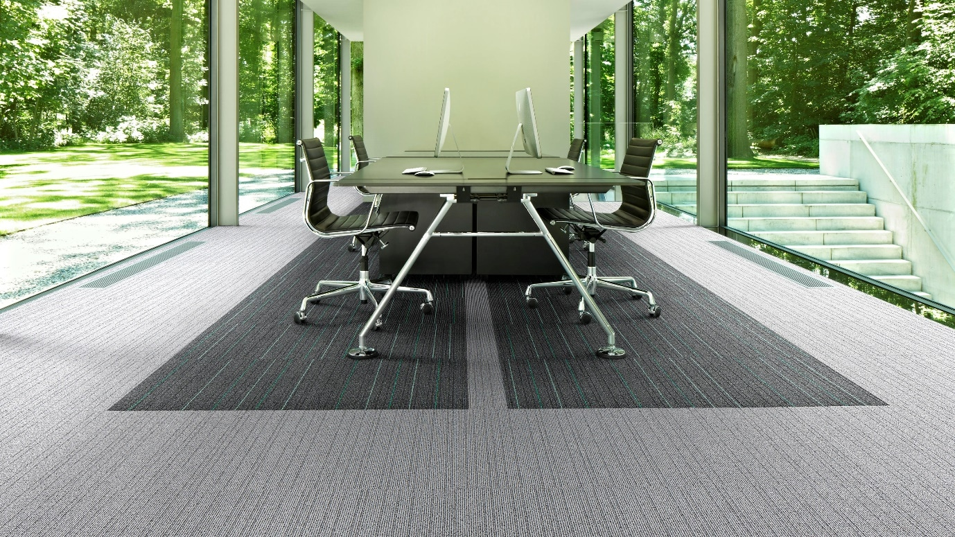 commercial carpet in office