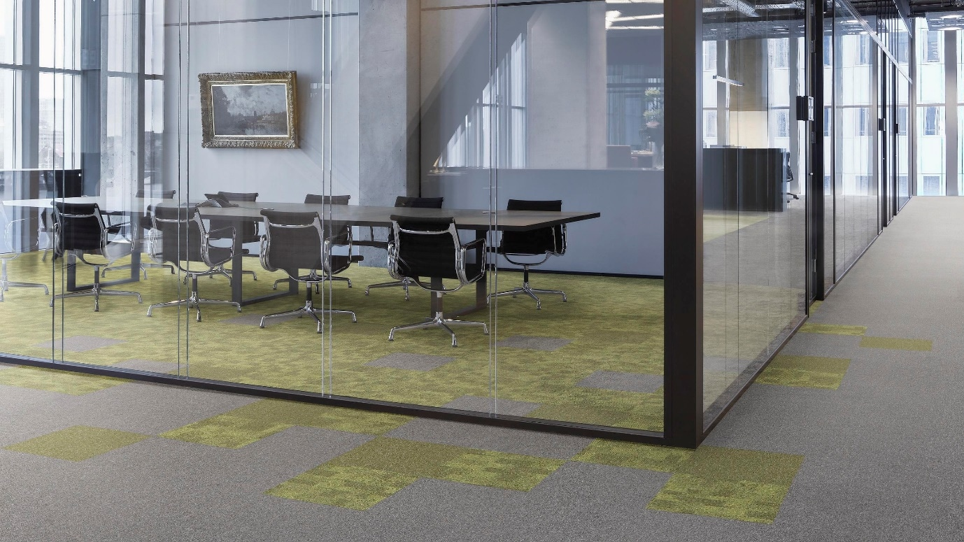 commercial carpet in boardroom