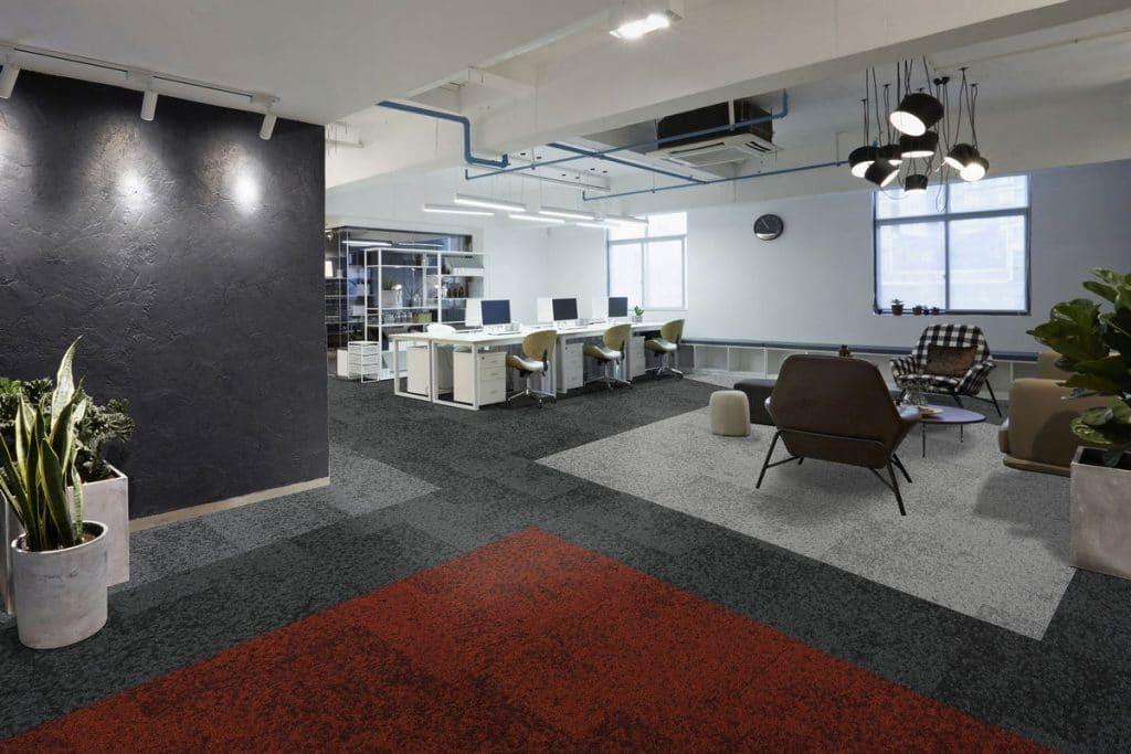 cut pile carpet tiles
