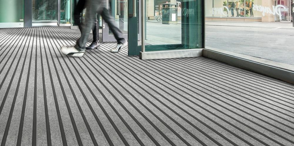 fibre bonded and entrance matting