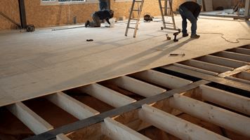 Flooring plywood