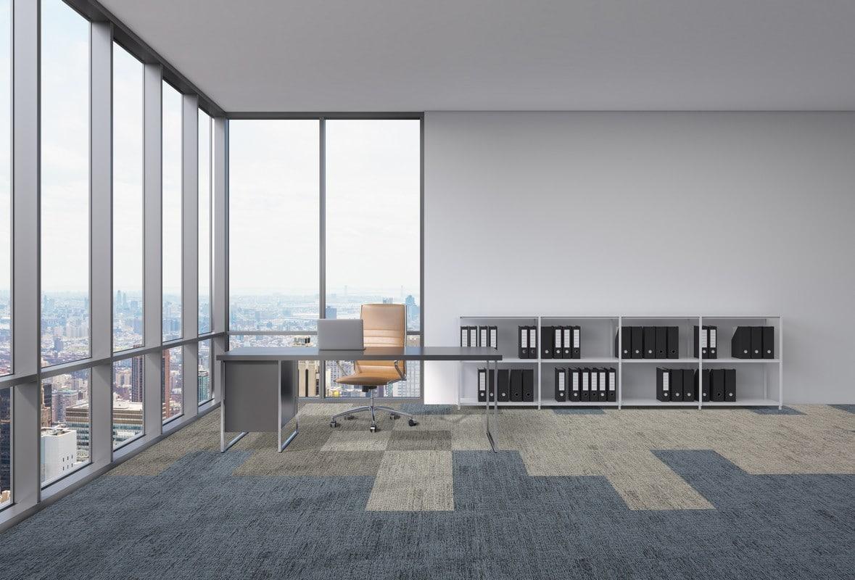 acoustic flooring in office