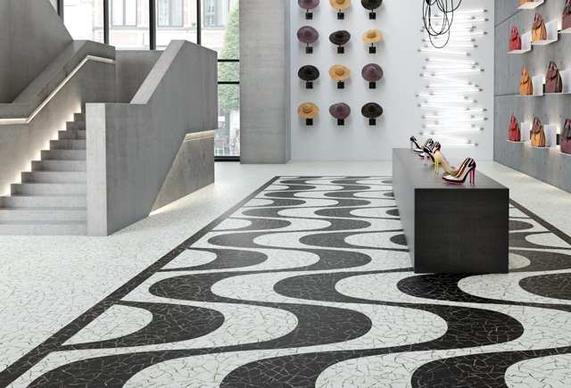 acoustic flooring for store