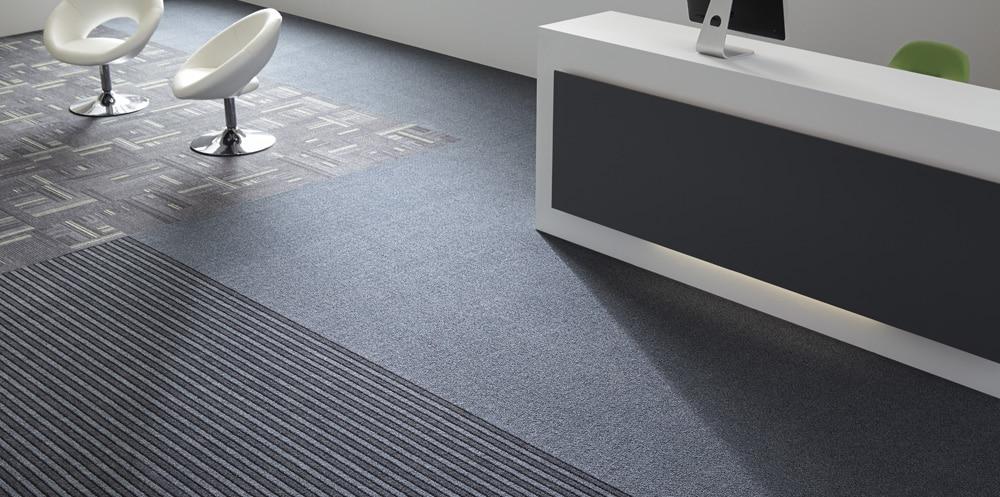 entrance matting in reception
