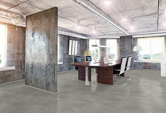 Loose lay office flooring
