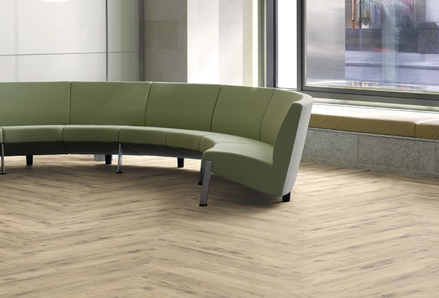 Loose Lay Flooring in waiting area