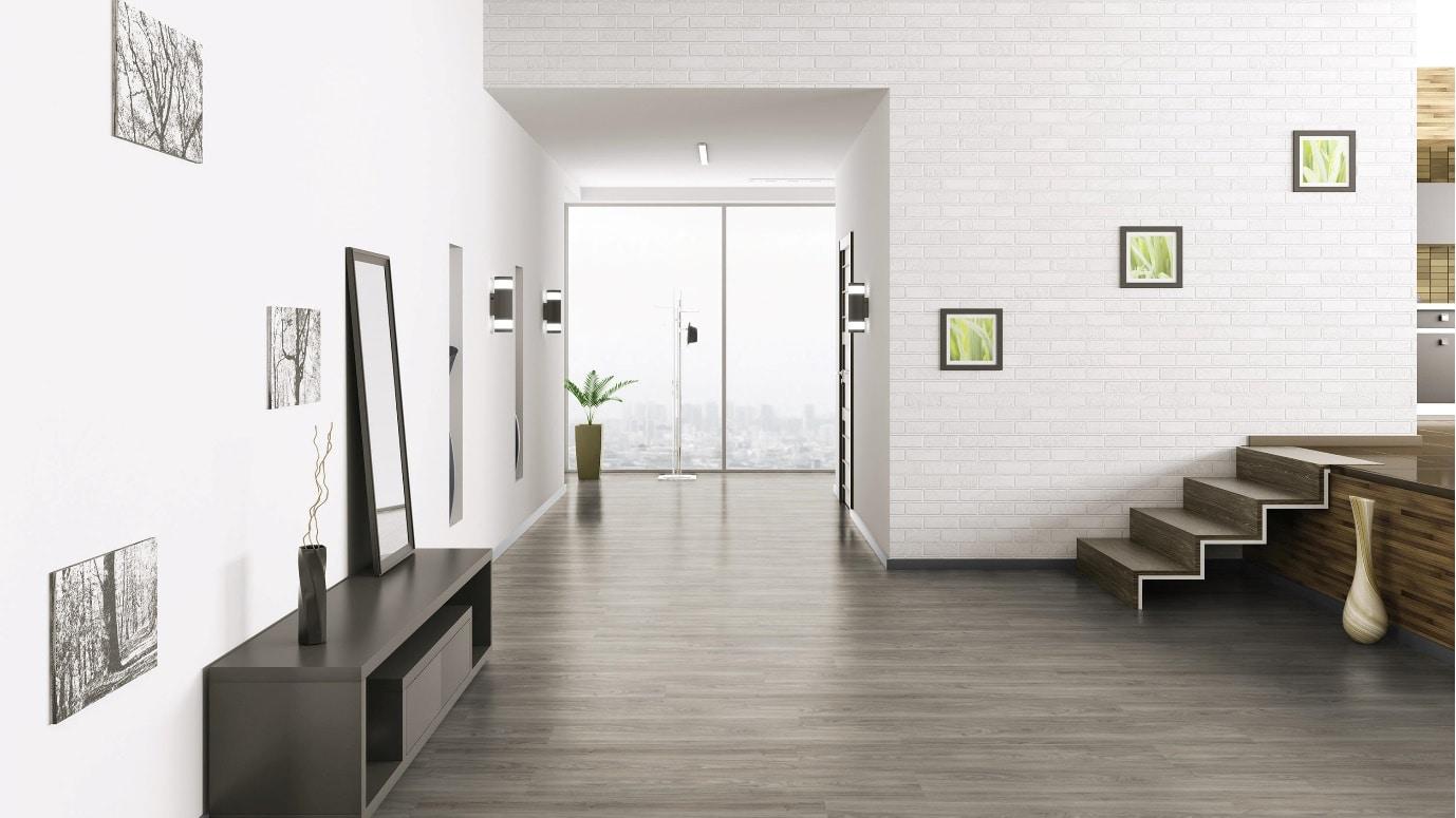 luxury vinyl tiles in home
