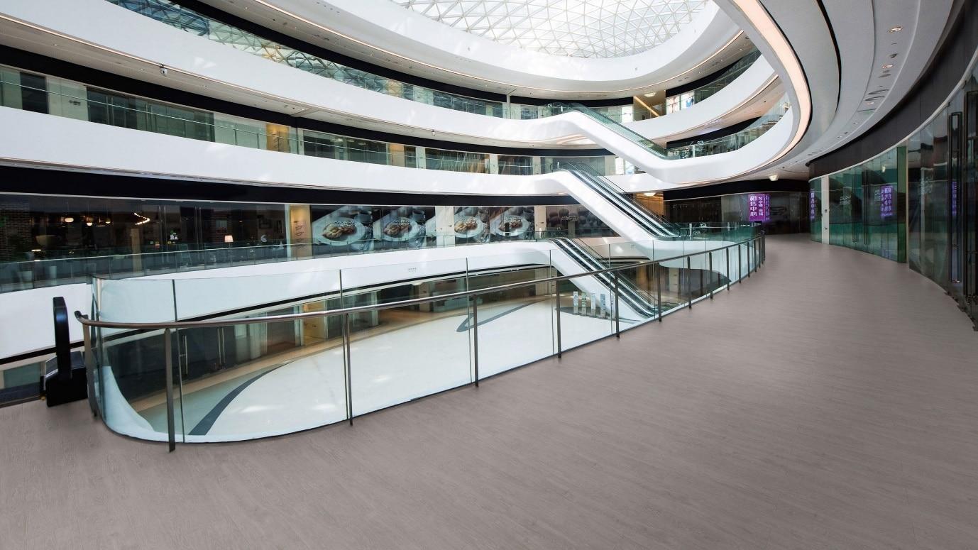 luxury vinyl tiles in mall